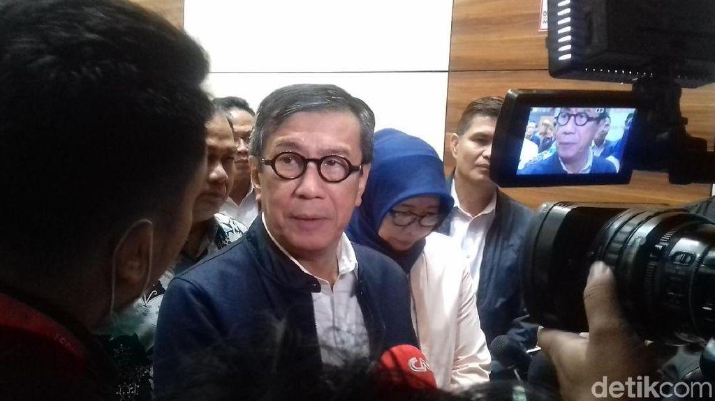 Menkum HAM Bantah Ada Penyelundupan Hukum di Proses Revisi UU KPK