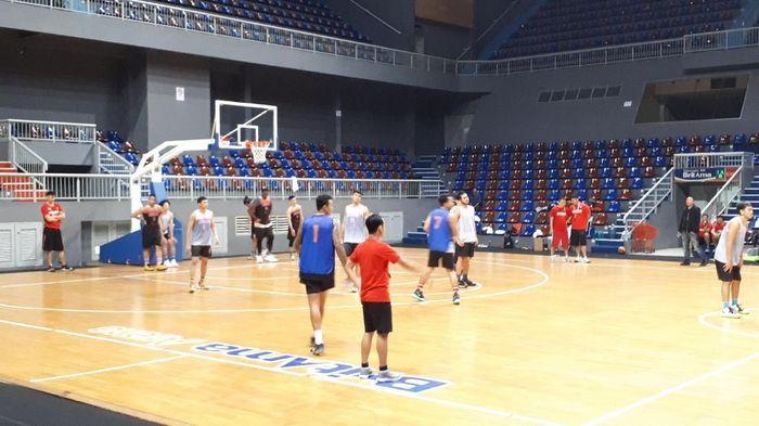Timnas basket putra Indonesia akan melakoni turnamen internasional di Taiwan pada pekan depan. (Foto: Mercy Raya / detiksport)