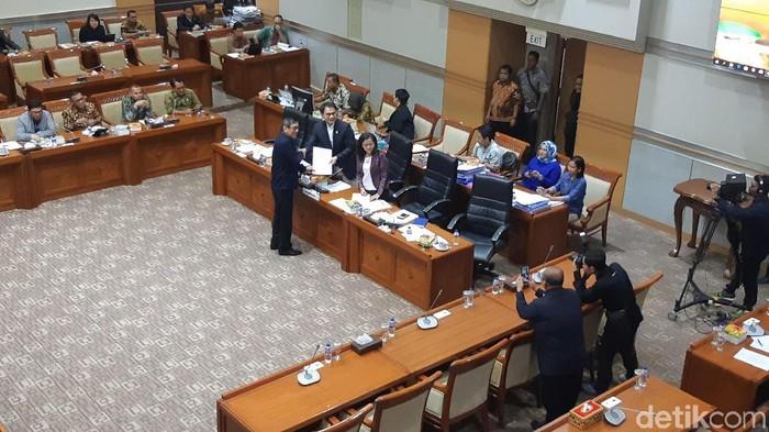 DPR-Pemerintah Sepakati Revisi UU Pemasyarakatan (Foto: Tsarina/detikcom)