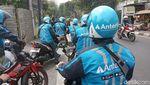 Penampakan Anterin.id, Ojol Saingan Gojek-Grab