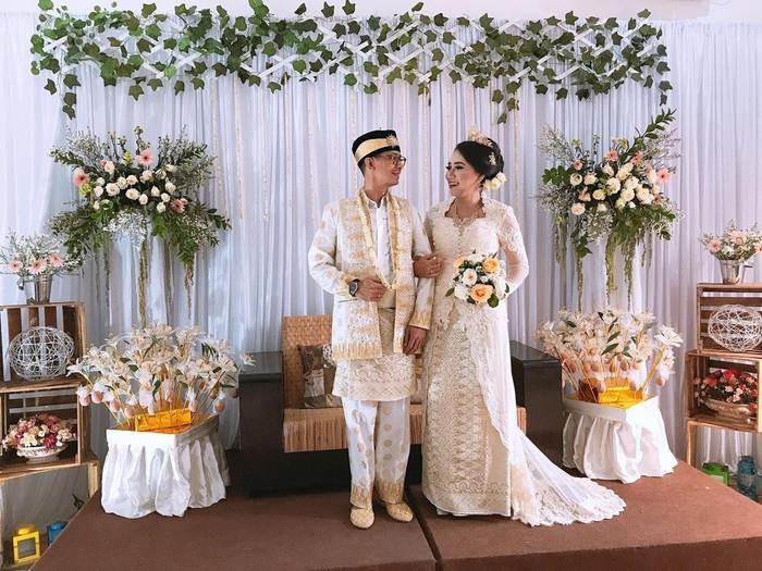 Pernikahan sederhana viral karena biaya hanya Rp 30 juta. Foto: Dok. Pribadi