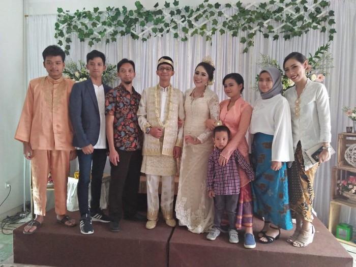Pesta pernikahan sederhana modal tak sampai Rp 30 juta. Foto: twitter Allya Vianarizha Y. @allyavyn