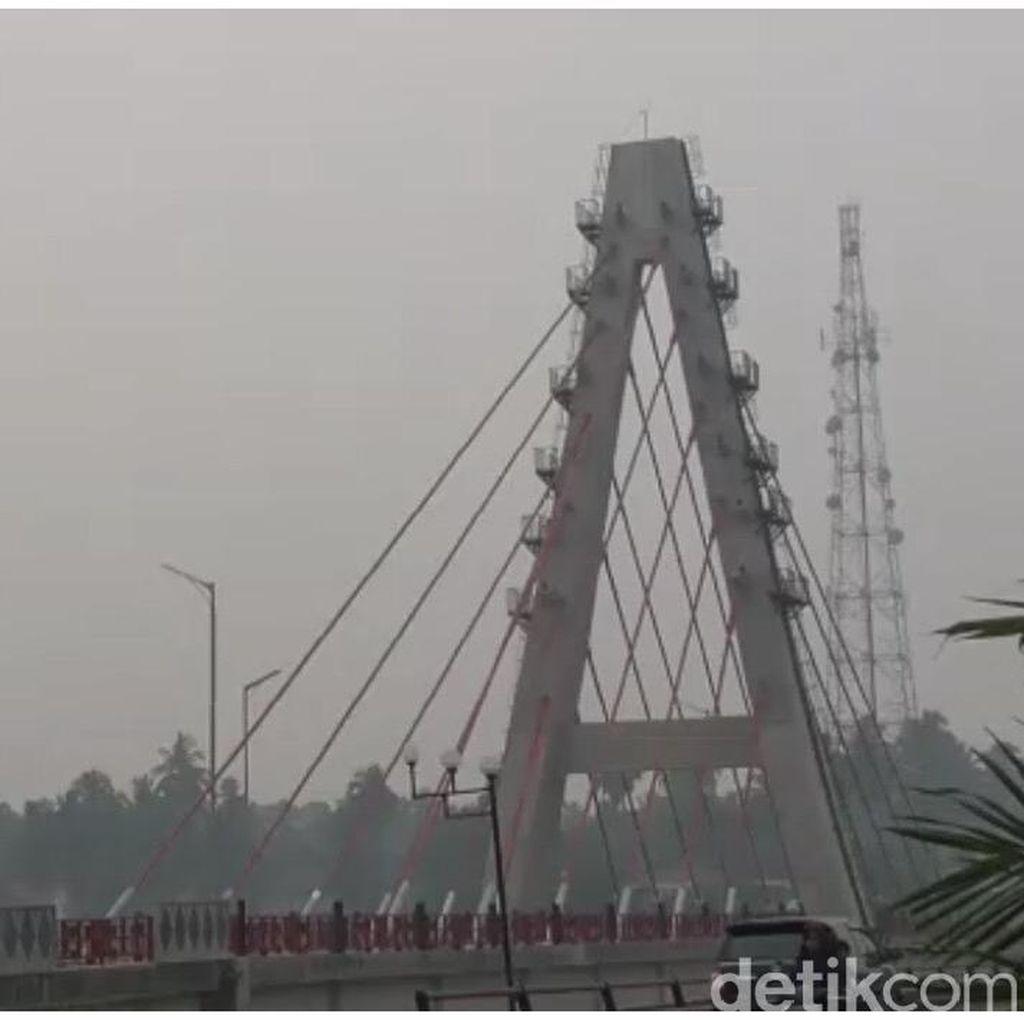 Kabut Asap Mulai Teror Sumbar, Sekolah di Dharmasraya Diliburkan