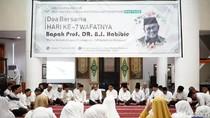 IKM Parepare Gelar Yasinan 7 Hari Wafatnya BJ Habibie di Makassar