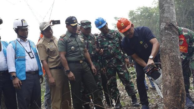 Jaga Keandalan Listrik, PLN Gandeng TNI Amankan Jaringan