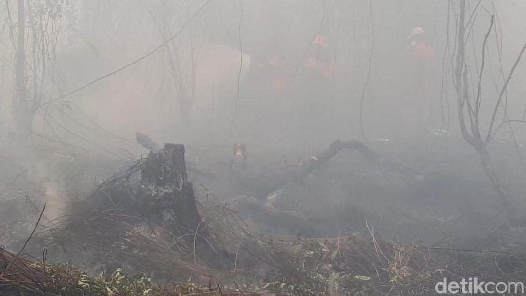 Karhutla Belum Padam, Udara di Kalteng-Kalbar-Riau Berbahaya!