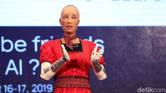Ilustrasi robot/Foto: Agung Pambudhy