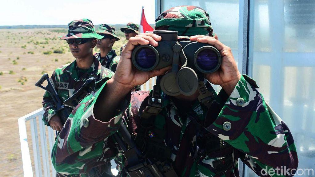 Saat TNI Jaga Pulau Terluar dari Perompak dan Teroris