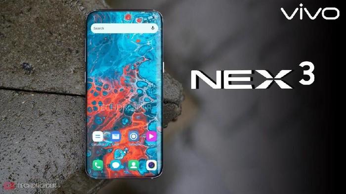 Vivo Nex 3. Foto: Istimewa