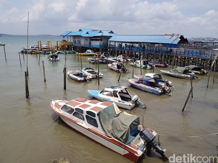 Foto ilustrasi: Pelabuhan Penajam Paser Utara (Ardan Adhi Chandra/detikcom)