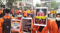 Mahasiswa di Jambi Tuntut Jokowi Copot Pejabat Tak Becus Tangani Karhutla
