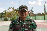 Komandan Kodim (Dandim) 1627/Rote Ndao Letkol Kav Andriyan Wahyu Dwi Atmoko (Wirsad Hafiz/detikcom)