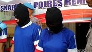 Sepasang Calon Pengantin Diciduk Polisi Saat Antar Sabu di Rembang