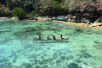 Mulut Seribu, salah satu destinasi wisata yang indah di Rote (Ari Saputra/detikcom)