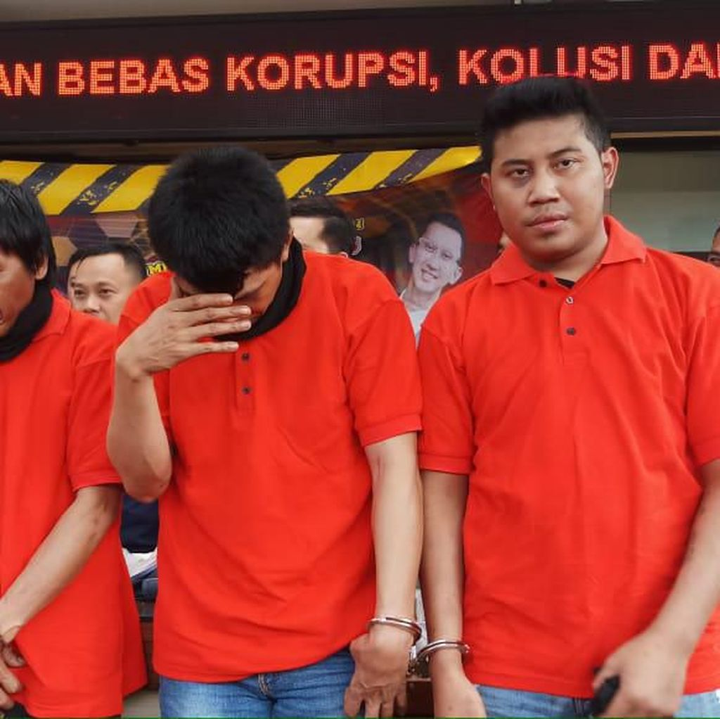 Ngaku Anggota BNN untuk Memeras Warga, 3 Pria Ditangkap Polisi
