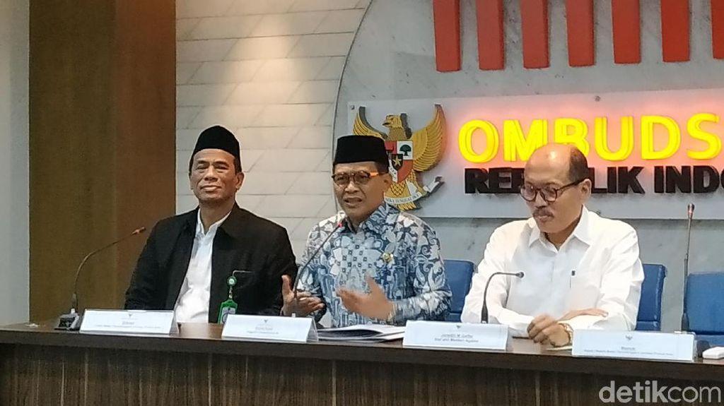 Ombudsman Nilai Kemenag Belum Siap Tangani Sertifikasi Produk Halal