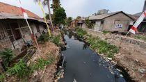 Sempat Disorot Iriana Jokowi, Begini Kondisi Terkini Kali Bahagia Bekasi