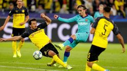 Griezmann Akui Belum Padu dengan Messi dan Suarez