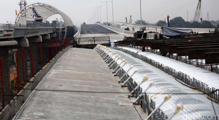 Tol Jakarta-Cikampek II (Elevated) bakal menjadi tol layang terpanjang di Indonesia.