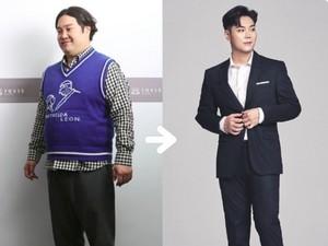 Jadi Ganteng Setelah Turun 32 Kg, Artis Korea Ini Malah Masuk Rumah Sakit