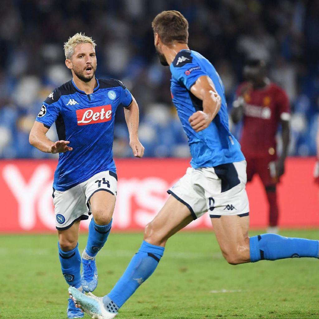 Kalahkan Liverpool dalam Duel Ketat Rasanya Nikmat Sekali Buat Napoli