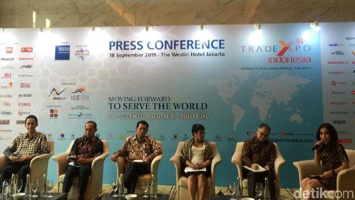 Foto: Trade Expo di Kemayoran, (Vadhia Lidyana/detikFinance)