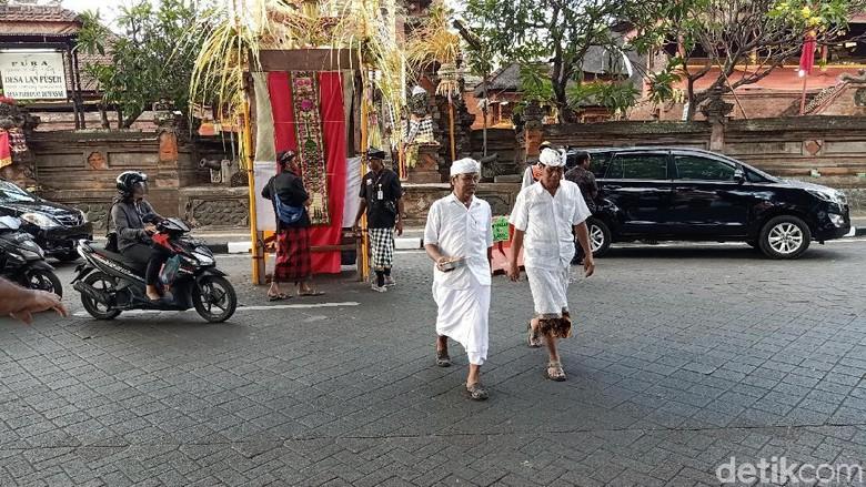 Warga Denpasar (Aditya Mardiastuti/detikcom)