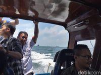Menyeberangi Teluk Balikpapan, Menuju Ibu Kota Baru