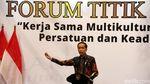 Jokowi hingga Quraish Shihab Hadiri Forum Titik Temu