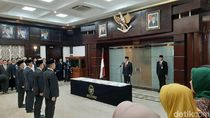 Lantik Sesmenko Polhukam, Wiranto Ingatkan soal Papua hingga Revisi UU KPK
