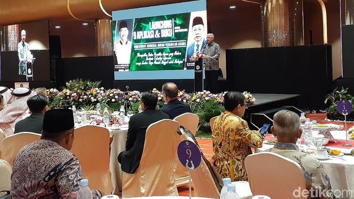 Mahkamah Agung (MA) Luncurkan 9 Aplikasi Peradilan Agama  (Foto: Yulida/detikcom)