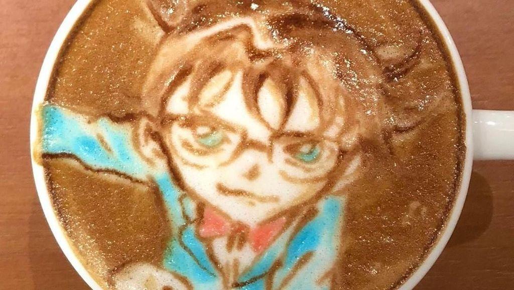 Uniknya Kreasi Latte Art Bertema Anime Racikan Barista Jepang