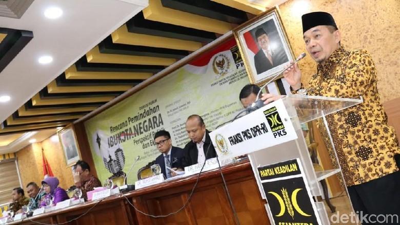 F-PKS Minta Pemindahan Ibu Kota Dikaji Matang
