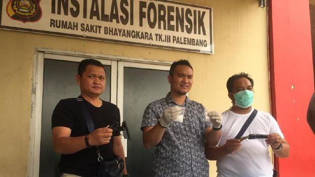 Polisi menangkap seorang residivis bandar narkoba, Ismail Muldan (34), asal Muara Enim, Sumatera Selatan