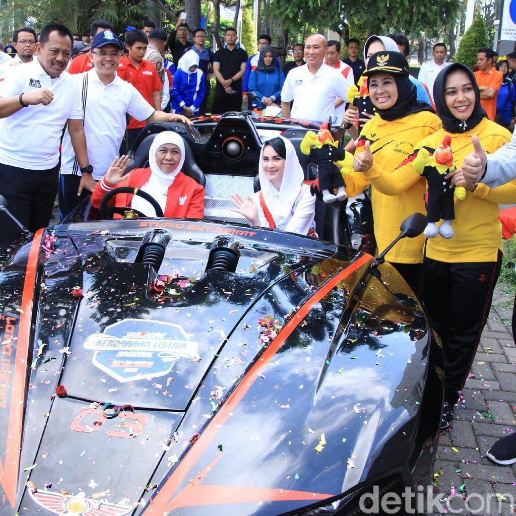 Gubernur Khofifah Sebut Lowo Ireng Reborn Mirip Batmobile