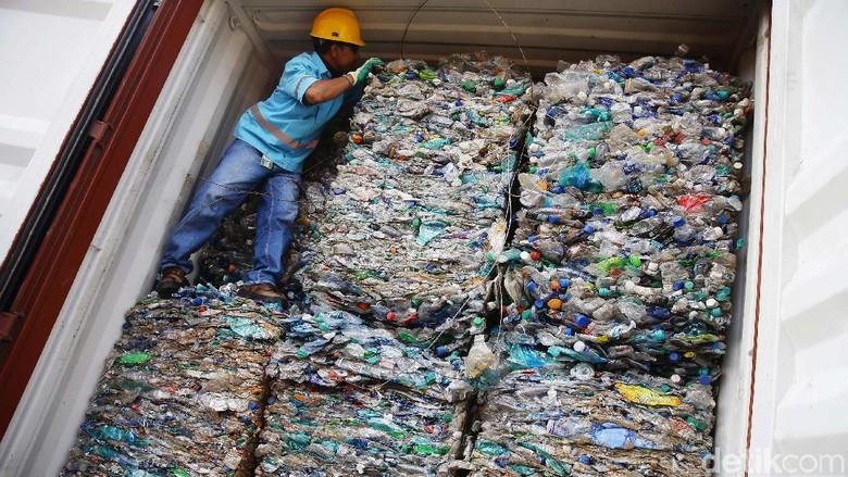 Jumlah Sampah Plastik yang Dibuang ke Indonesia Diklaim Berkurang