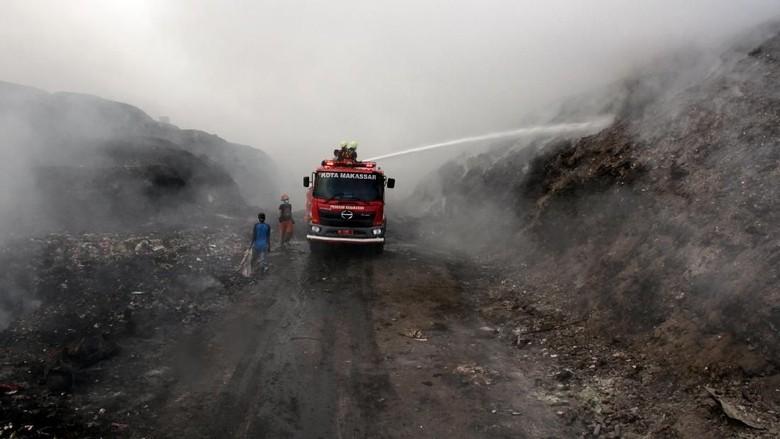 Polres Makassar Akan Periksa Plt Kadis DLH soal Kebakaran TPA Antang