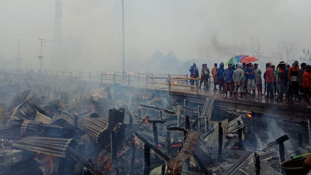 Selidiki Kebakaran di Asmat, Polda Papua Datangkan Tim Labfor Makassar
