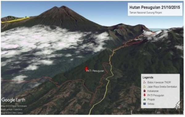 BTNGR melakukan Operasi Simpatik dalam rangka revitalisasi fungsi Hutan Pesugulan TN Gunung Rinjani (BTNGR/Instagram)