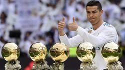 Ronaldo: Aku Pantas Dapat Ballon dOr Lebih Banyak daripada Messi
