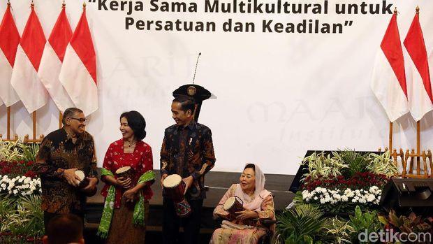 Jokowi Buka Acara Forum Titik Temu /