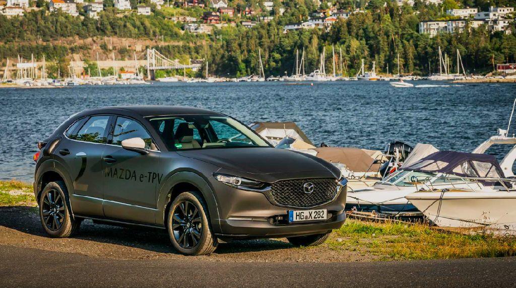 Mazda Listrik Siap Tampil Bulan Depan