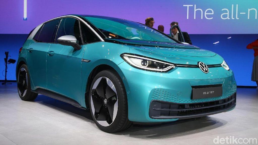 Ford Buat Mobil Listrik dari Platform Mobil VW