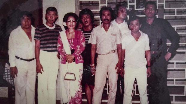 Gepeng sempat ikut dalam rombongan Srimulat tampil di rumah Presiden Soeharto.
