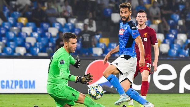 Liverpool kembali menelan kekalahan di kandang Napoli. Di musim lalu Liverpool kalah 0-1 di Naples.
