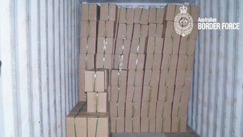 Dua Warga Malaysia Tertangkap Selundupkan 1 Ton Bahan Narkoba ke Australia