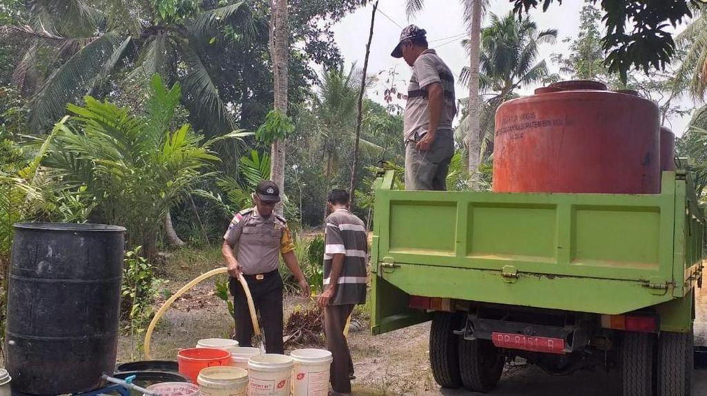Kemarau, Wilayah Lancang Kuning Bintan Kekeringan
