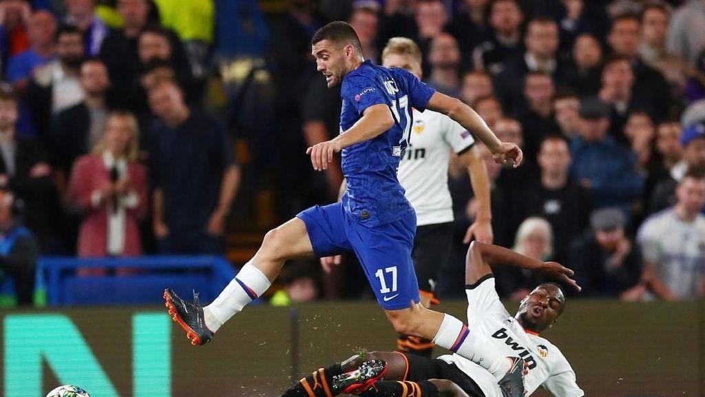 Chelsea Diimbangi Valencia di Babak Pertama