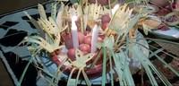 Nondoi ditutup dengan acara makan bareng. Kini ritual tersebut dikemas dalam bentuk festival yang bisa dikunjungi oleh wisatawan. Festival Nondoi sendiri akan digelar bulan Oktober mendatang. (dok. Helena/Istimewa)