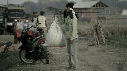 pejuang agraris untuk mengais padi